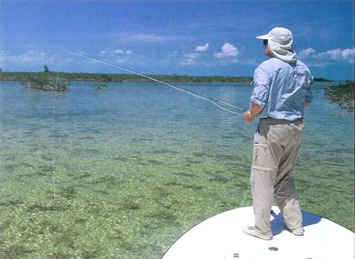 Chico Fernandez Fly Fishes for Bonefish