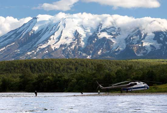Kamchatka Peninsula Fishing