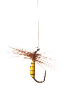 What 39 s the best tippet to fly knot midcurrent for Fly fishing tippet