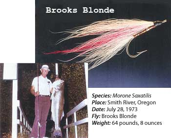 Brooks Blond Fly
