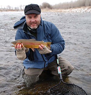 Winter Cutthroat Trout