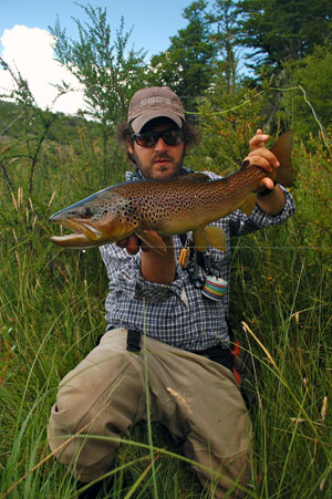Felipe Marron Argentina Brown Trout
