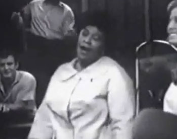 "Ella Fitzgerald Singing ""Sunny Side of the Street"""