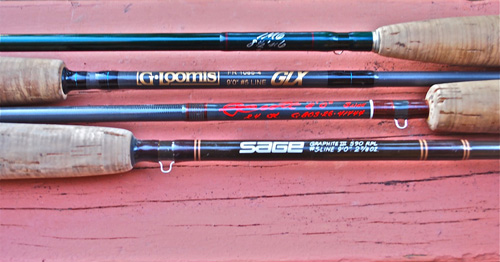 retro rod review: four graphite models that changed the fly, Fishing Reels
