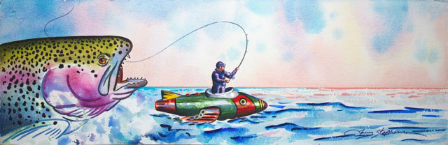 Larry Stephenson - Fly Fishing on Kepler-22b