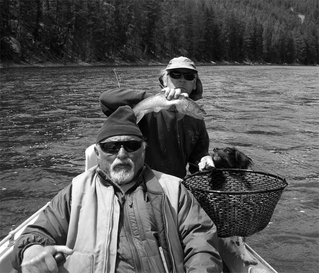 Jim Harrison hunting