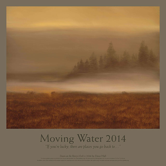 Moving Water by Dave Hall