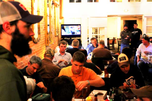 Schultz Outfitters Bar Fly Event
