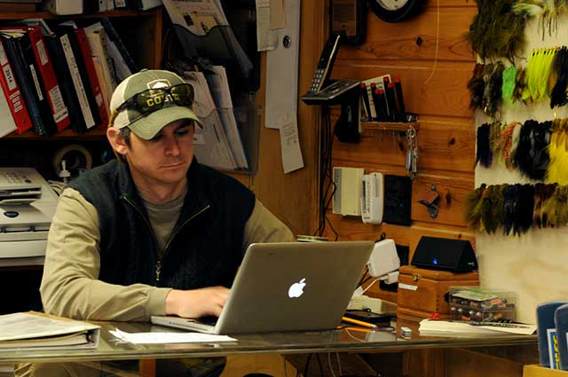 Josh Greenberg, owner of Gates Au Sable Lodge