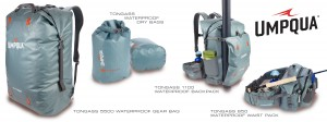 Umpqua Tongass bags and packs