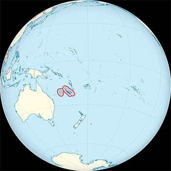New Caledonia, South Pacific