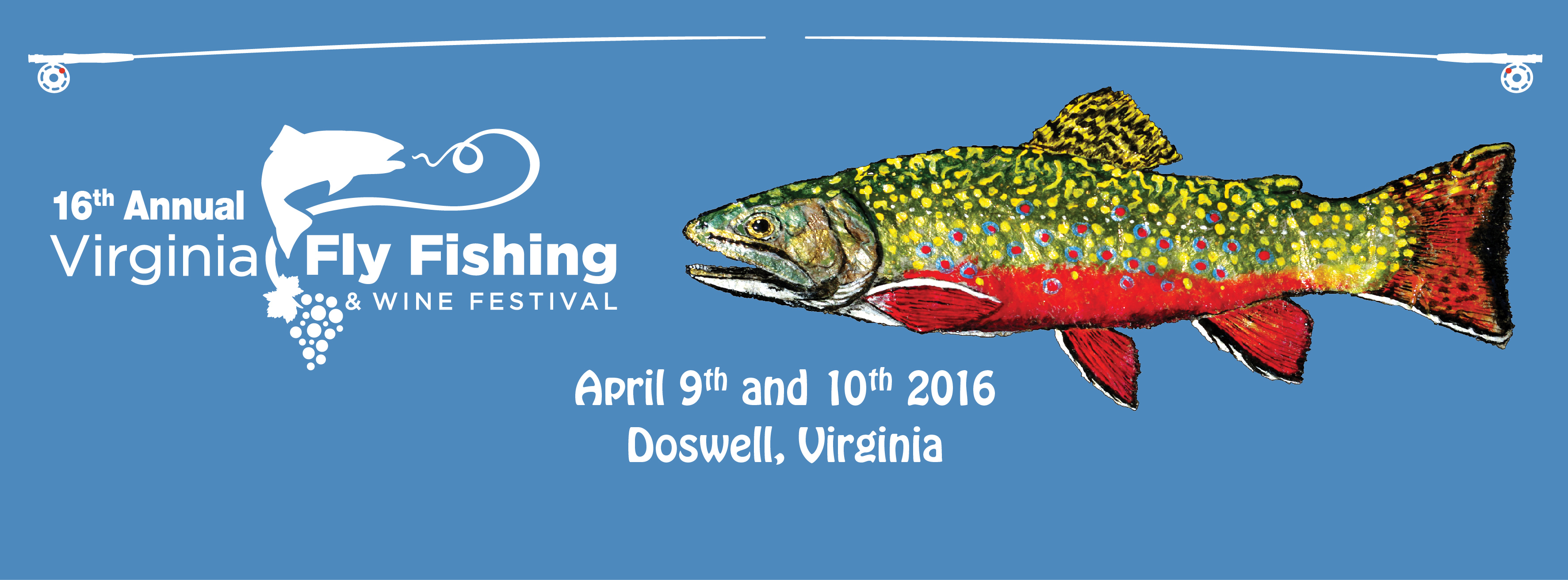 The virginia fly fishing wine festival midcurrent for Fishing in va